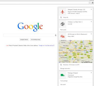 google now su chrome