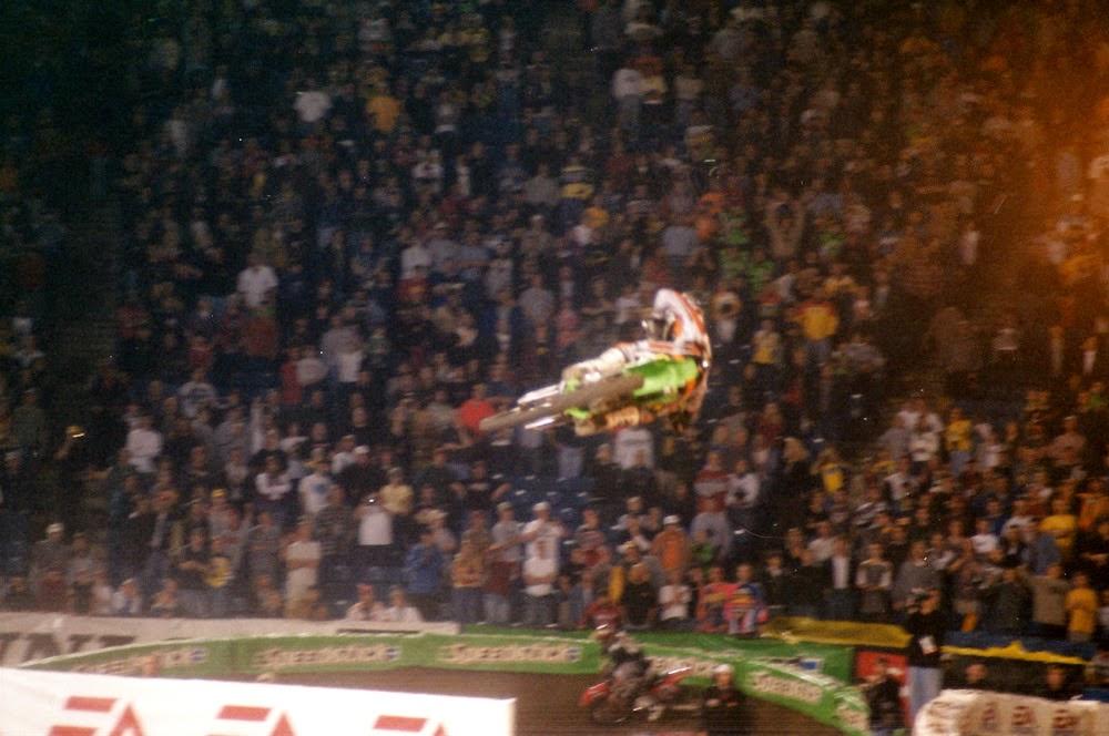 Ricky Carmichael Pontiac Supercross 2001
