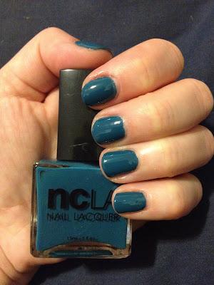 NCLA, NCLA Nail Lacquer, NCLA nail polish, NCLA Malibu Beach Babe, nail polish, nail lacquer, nail, nails, lacquer, polish, mani, manicure, NCLA manicure