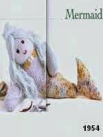 patron gratis sirena amigurumi de punto, free knit amigurumi pattern siren