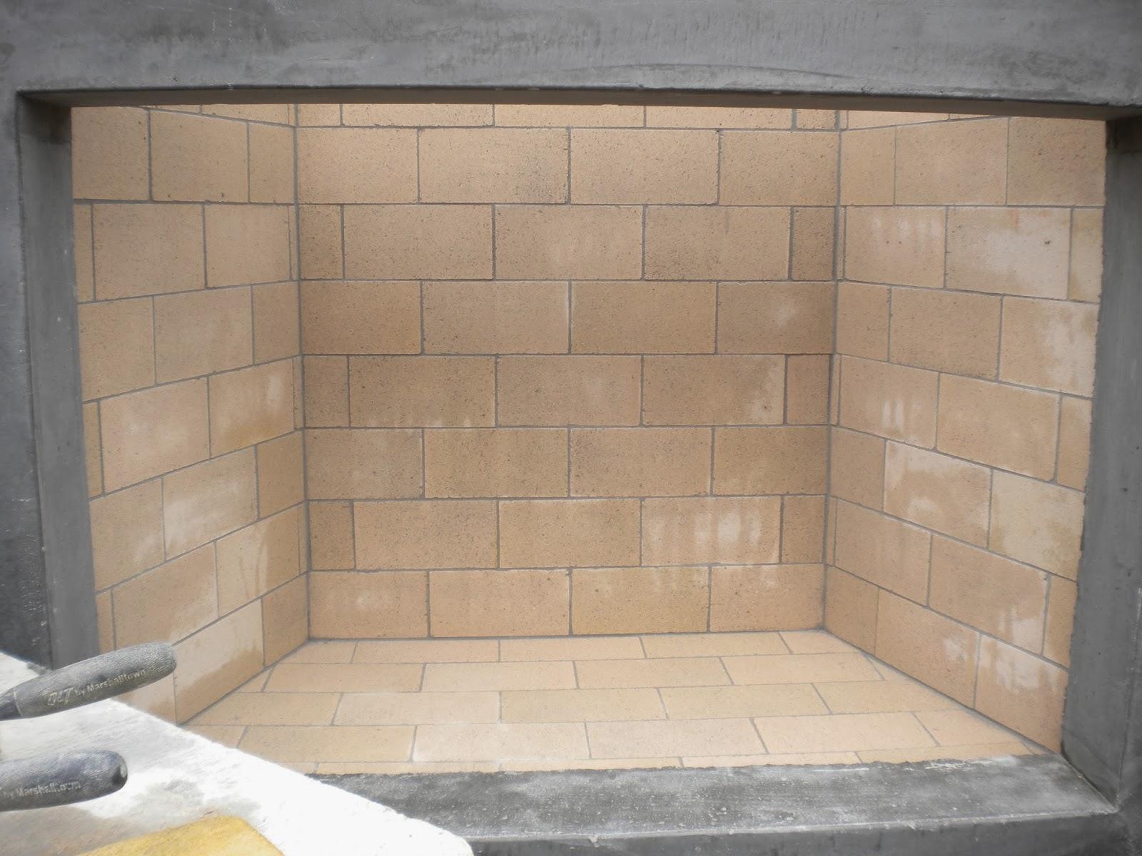 BOISINEAU MASONRY: Outdoor fireplace firebox and bluestone veneer ...