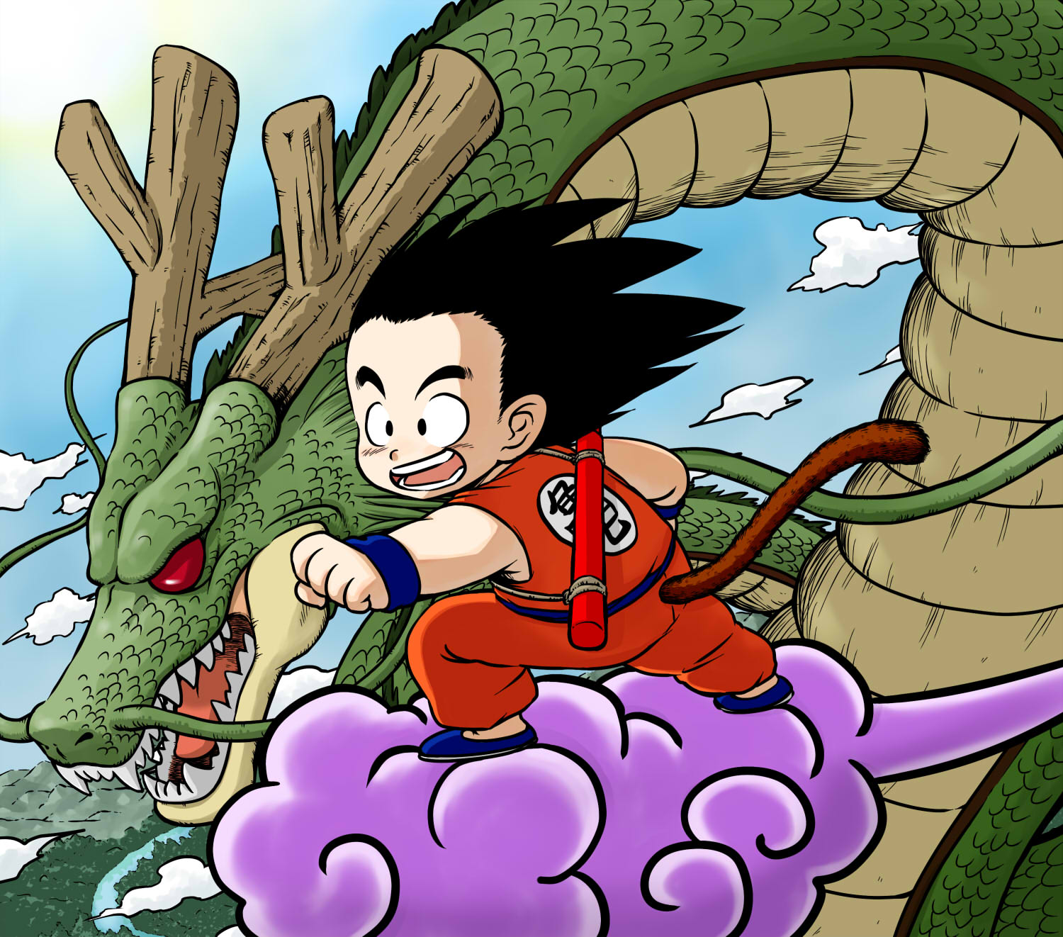 Dragon Ball HD & Widescreen Wallpaper 0.573011614634808