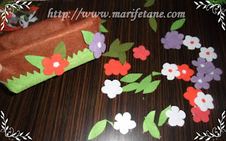 making felt napkin