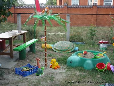 Украшение для детских площадок для детского сада своими руками