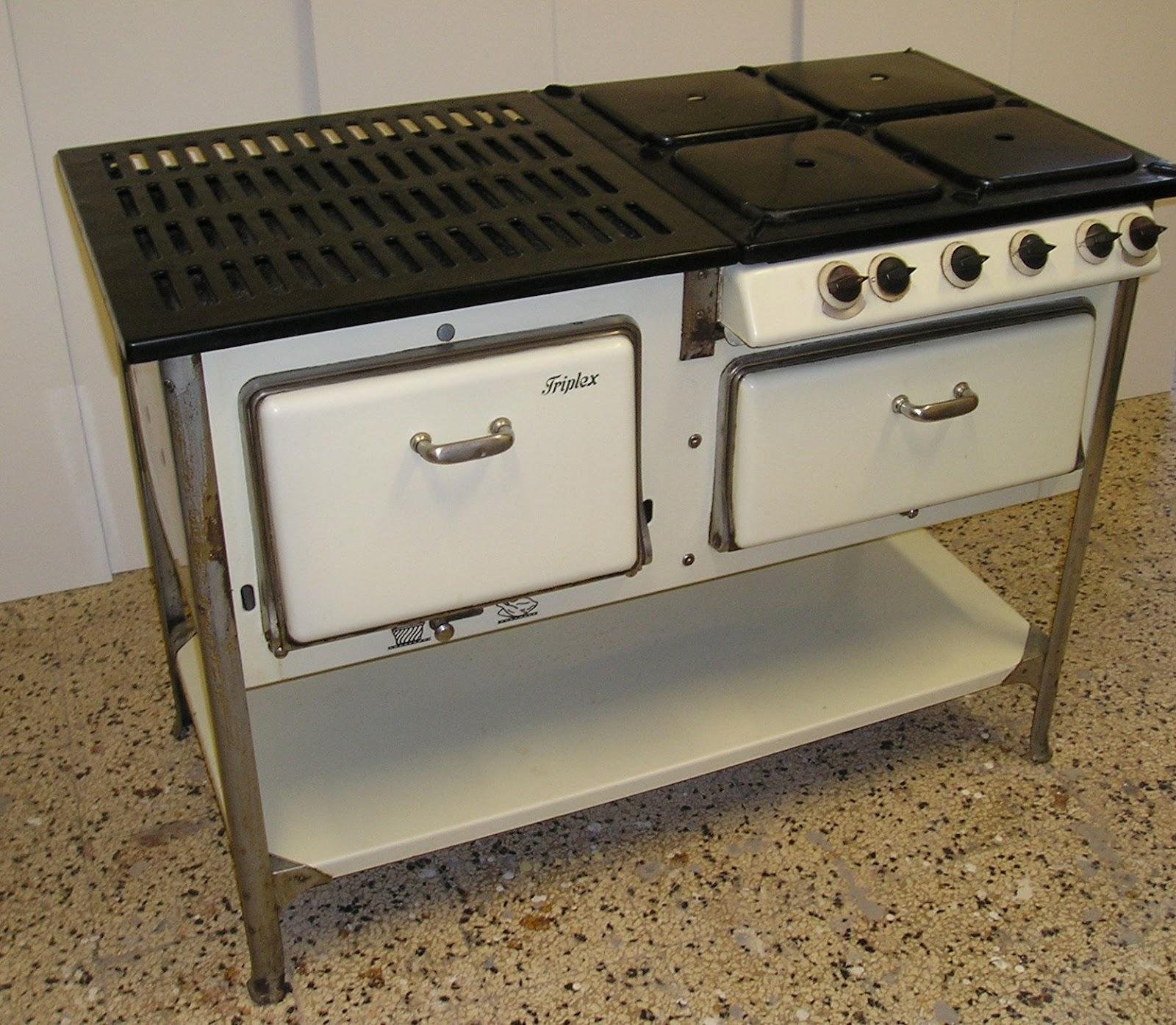 L\'officina dell\'antico : Cucina a gas TRIPLEX anni 30