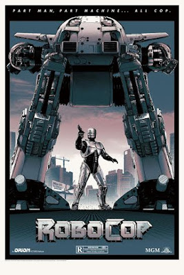 Robocop Standard Edition Screen Print by Matt Ferguson & Grey Matter Art