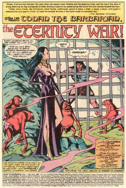 Conan the Barbarian (1970) Issue #124 #136 - English 2