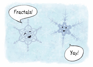 snowflakes are fractals