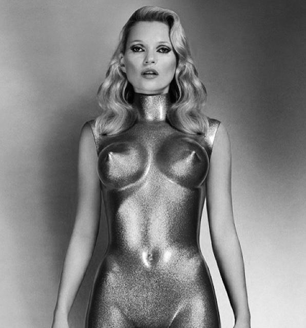 Fetish Inspirations : Kate Moss By Allen Jones