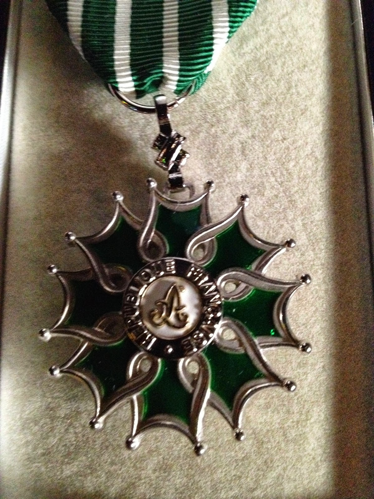 Medal of the Knight of Arts and Letters
