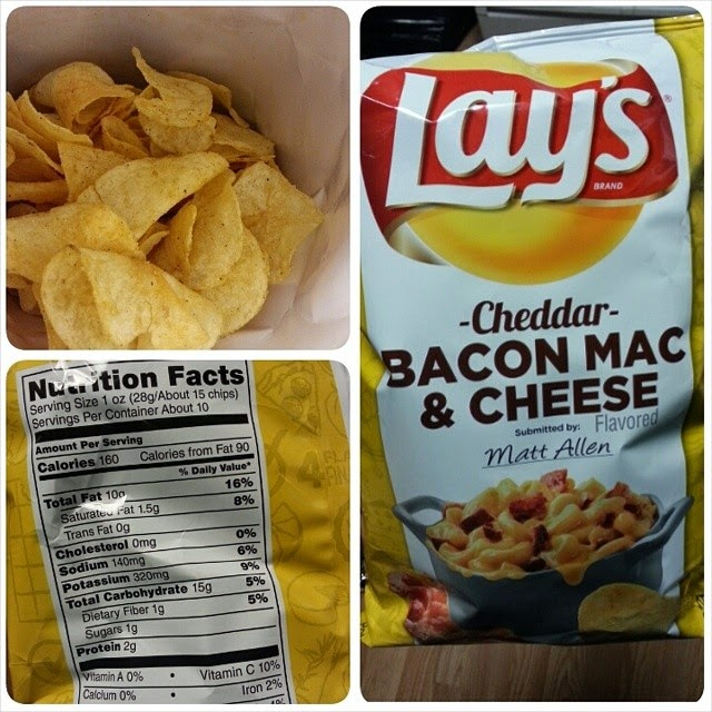 ... Lightening the Load: Lay's Cheddar Bacon Mac & Cheese Potato Chips
