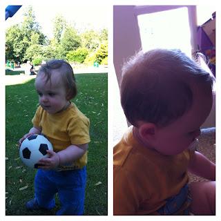 Milestone: First Haircuts