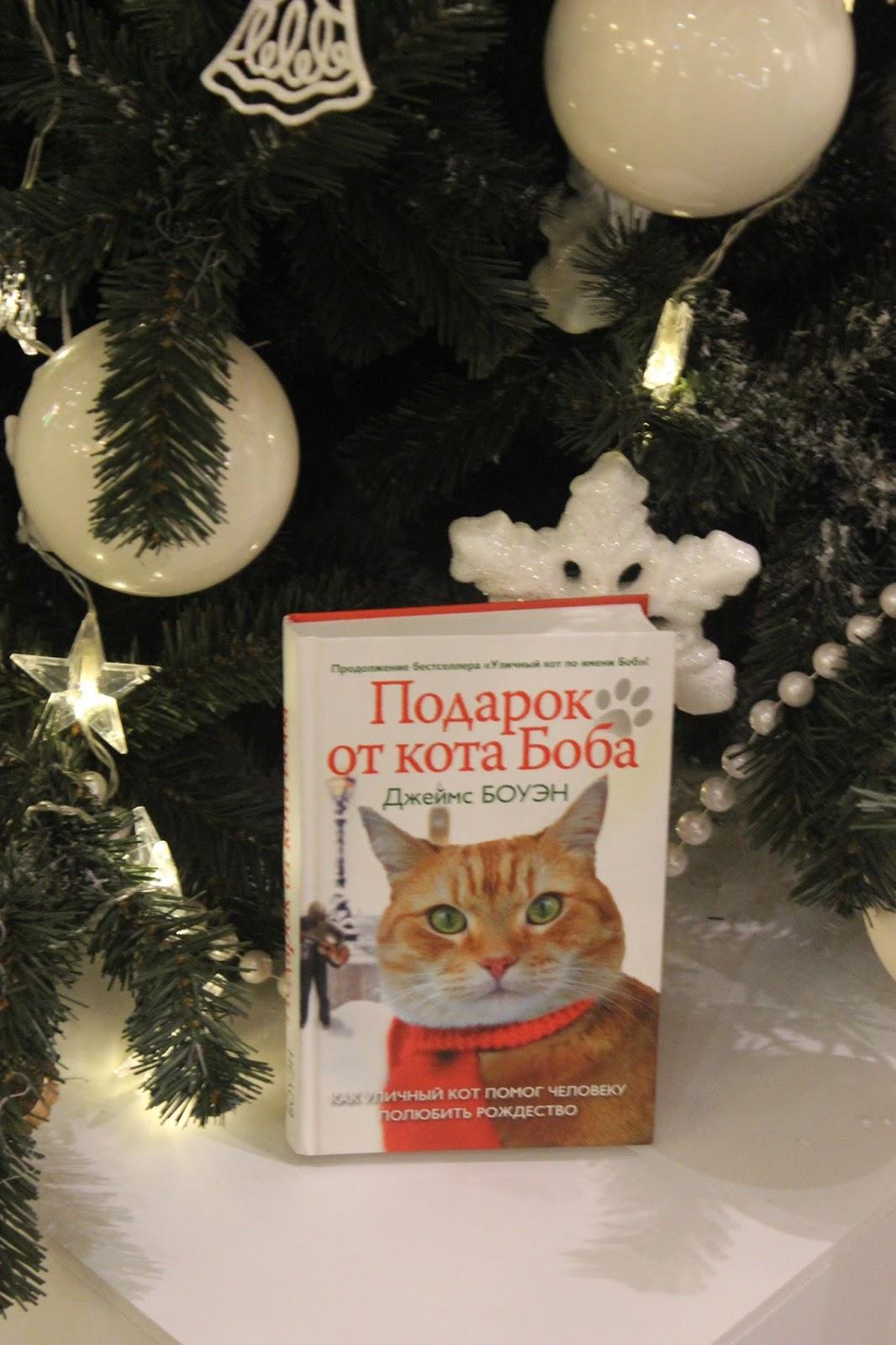 Подарок от кота боба обложка 81