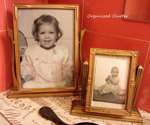 Vintage Easel Photo Frames