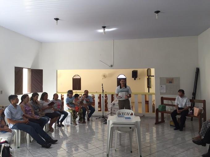 ENCONTRO MENSAL COM LIDERANÇAS DE COMUNIDADES E PASTORAIS
