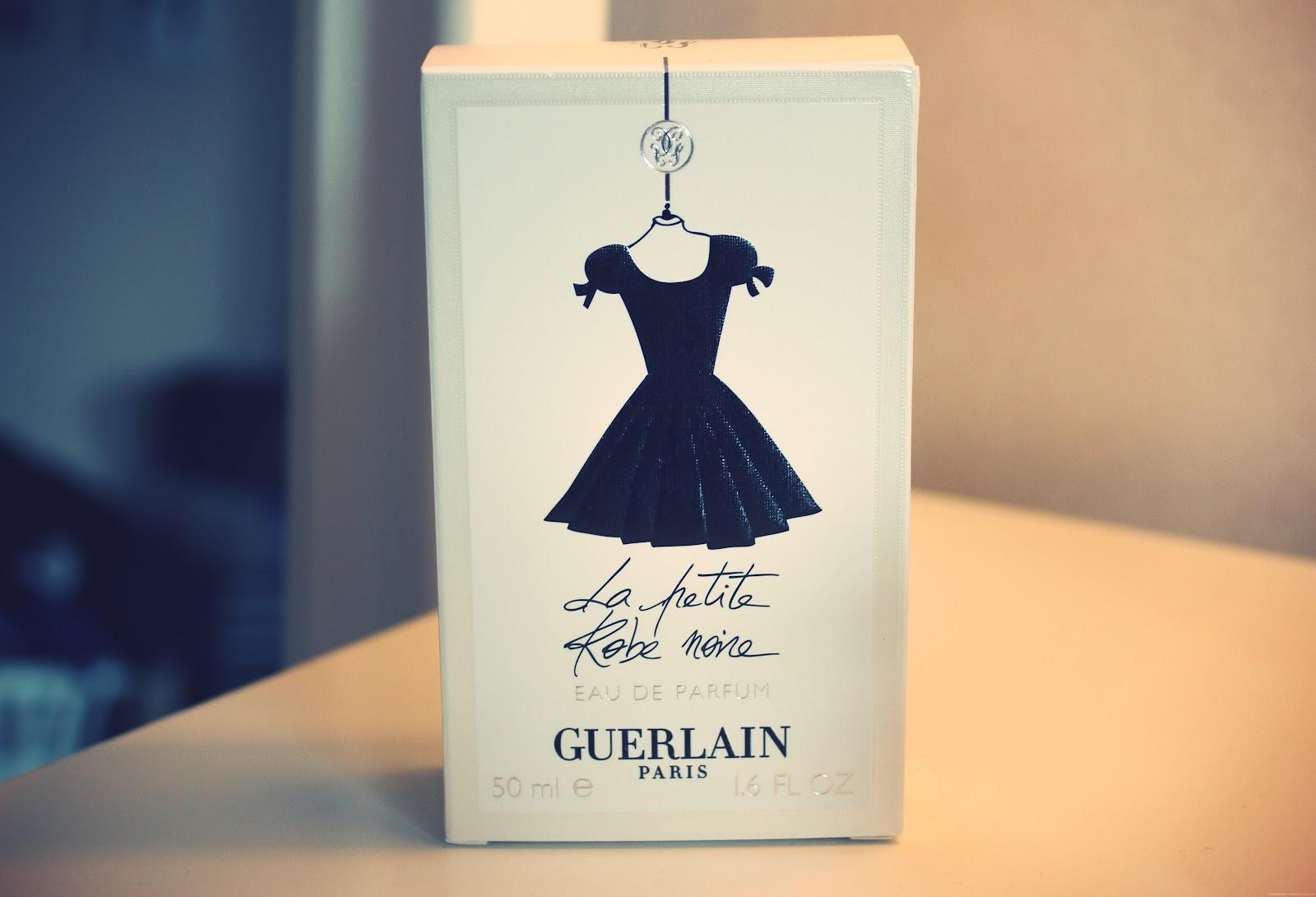 guerlain la petite robe noire perfume lily pebbles. Black Bedroom Furniture Sets. Home Design Ideas