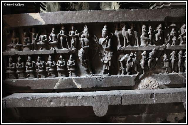 Beautiful carving at Bhuleshwar