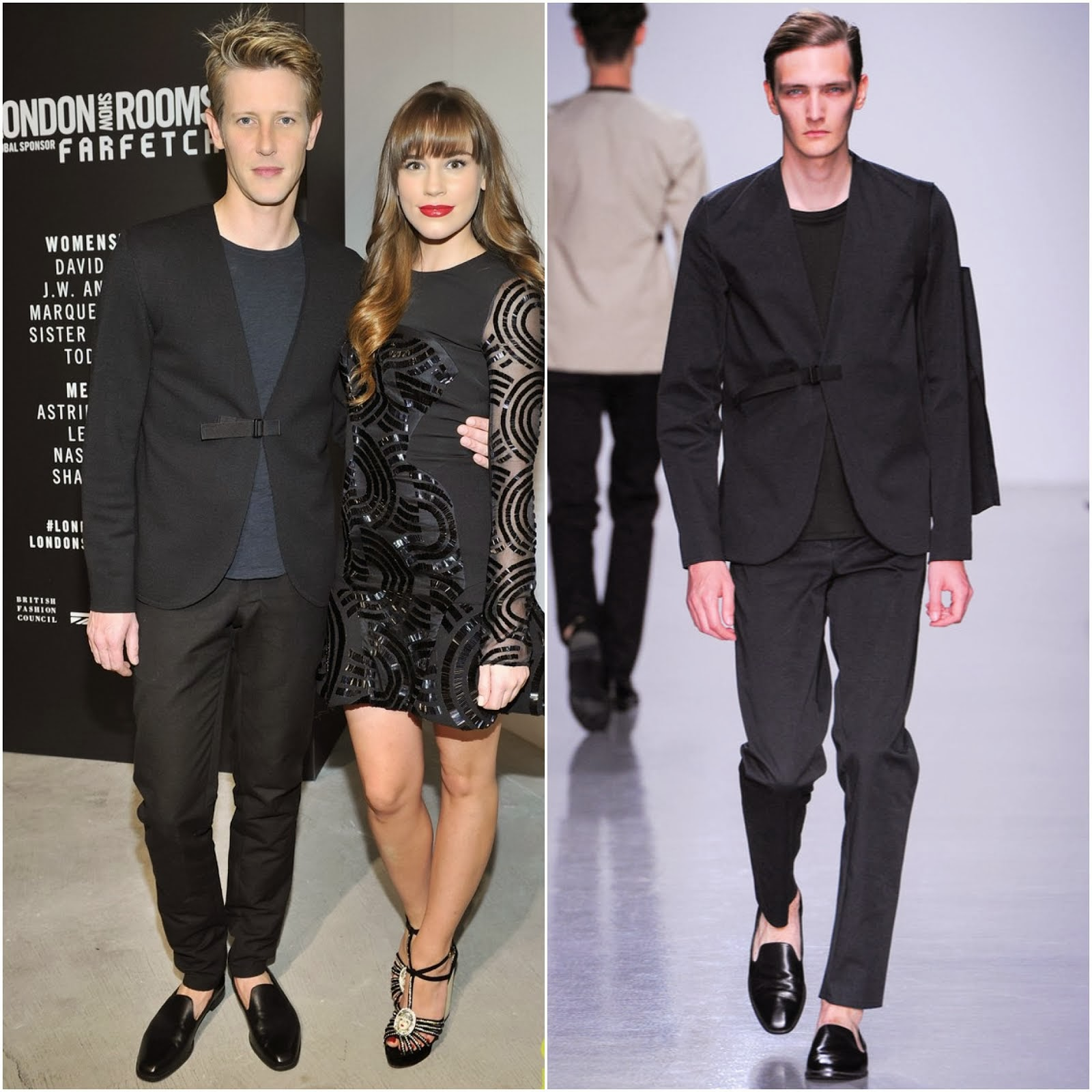 Gabriel Mann in Lee Roach Spring Summer 2014 - London Show Room LA Opening November 2013