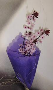 Mi ramo de flor de almedros
