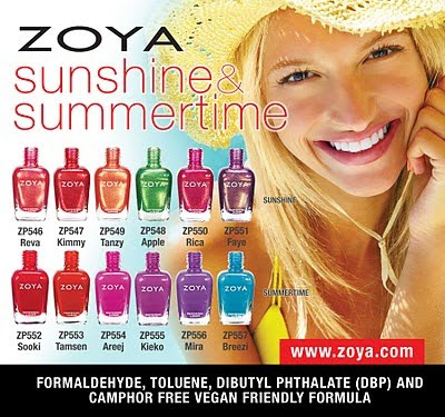 Zoya Nail Polish presents two