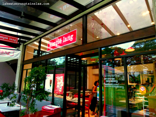 AYALA TRIANGLE GARDENS MAKATI CITY | SIMPLE' LANG RESTAURANT