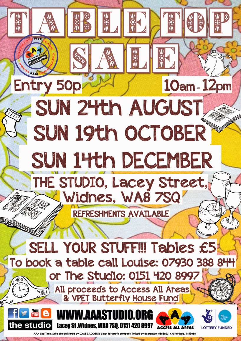 ACCESS ALL AREAS: Table Top Sales from now till DEC / Sell Your ...