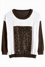 Ideal top for wearing on Xmas Day if you suffer from psoriasis