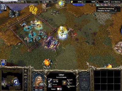 لعبة الاستراتيجية العملاقة WarCraft III Reign of Chaos نسخة كاملة حصريا تحميل مباشر WarCraft+III+Reign+of+Chaos+2