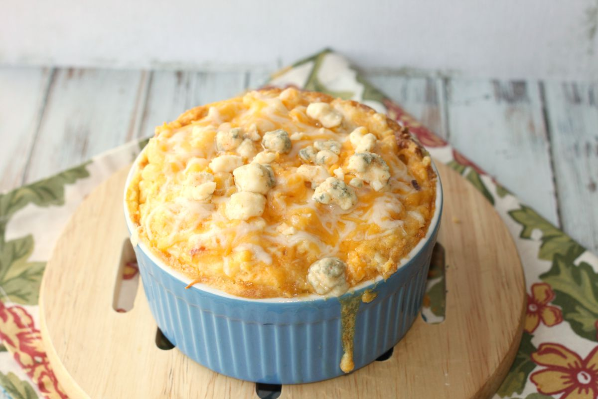This Buffalo Chicken Mac And Cheese Was Crazy Good And Super Easy Too I Like Fast And Easy