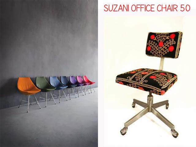 chaise bureau annee 50