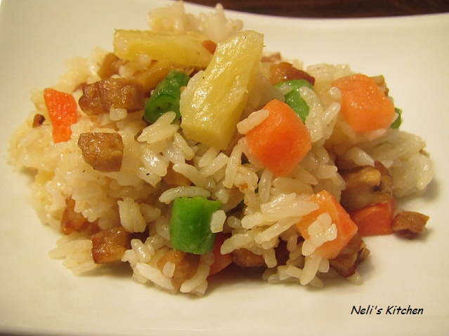 Indonesian Vegetarian Fried Rice