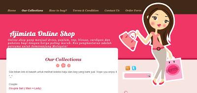 malaysia, online, shop, murah,kuantan, jual, peplum, dress,