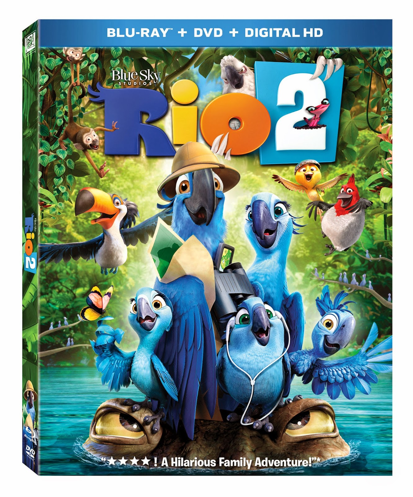 Rio 2 Blu-ray giveaway by Yes/No Films