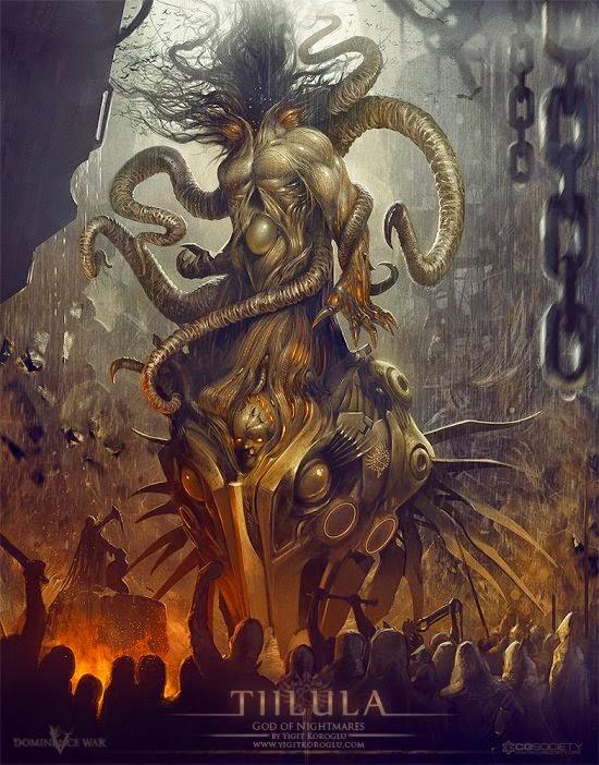 Yigit Koroglu deviantart ilustrações fantasia ficção científica sombria