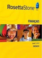 baixar capa DVD Curso de Francês Rosetta Stone