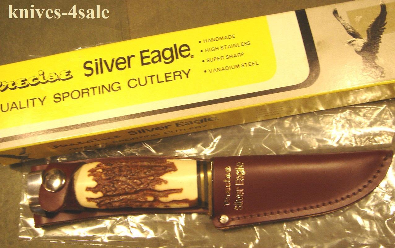 Knives 4sale Precise Silver Eagle Vintage Hunting Knife