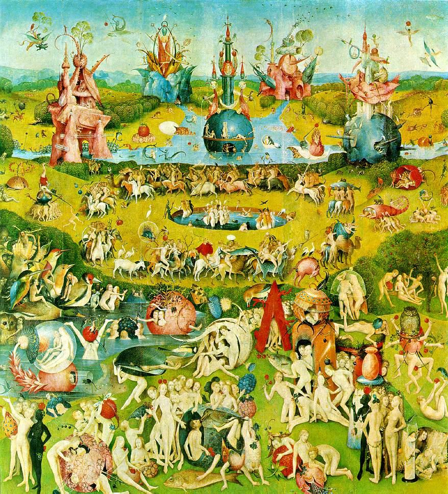 Preguntas de arte el jardin de las delicias de bosch for El jardin de las delicias benavente