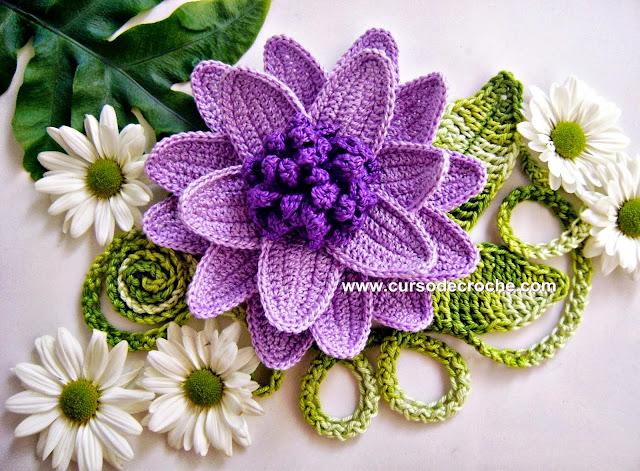 flores aprender croche dvd edinir-croche video-aulas loja curso de croche frete gratis