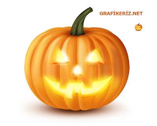 Photoshop ile oluşturulmuş halloween psd
