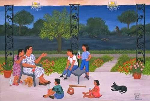 Chicana Art & Artists: La Llorona by Carmen Lomas Garza
