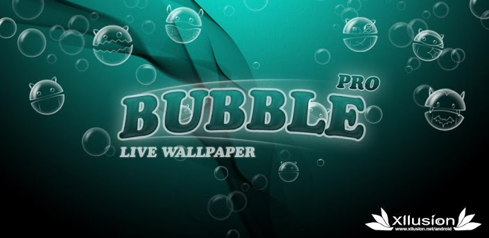 Bubble Pro Live Wallpaper Apk For Android You Can Chaing Number Of Floating Doride Appearance Quantity And Speed