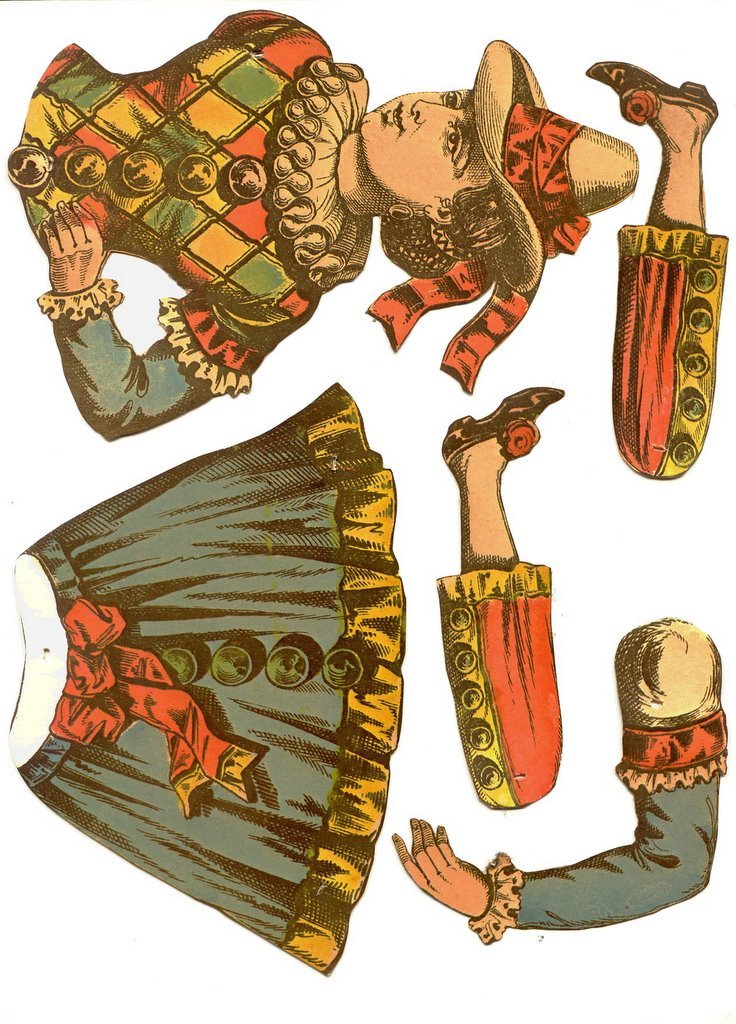 The Vintage Toy Chest Paper Dolls