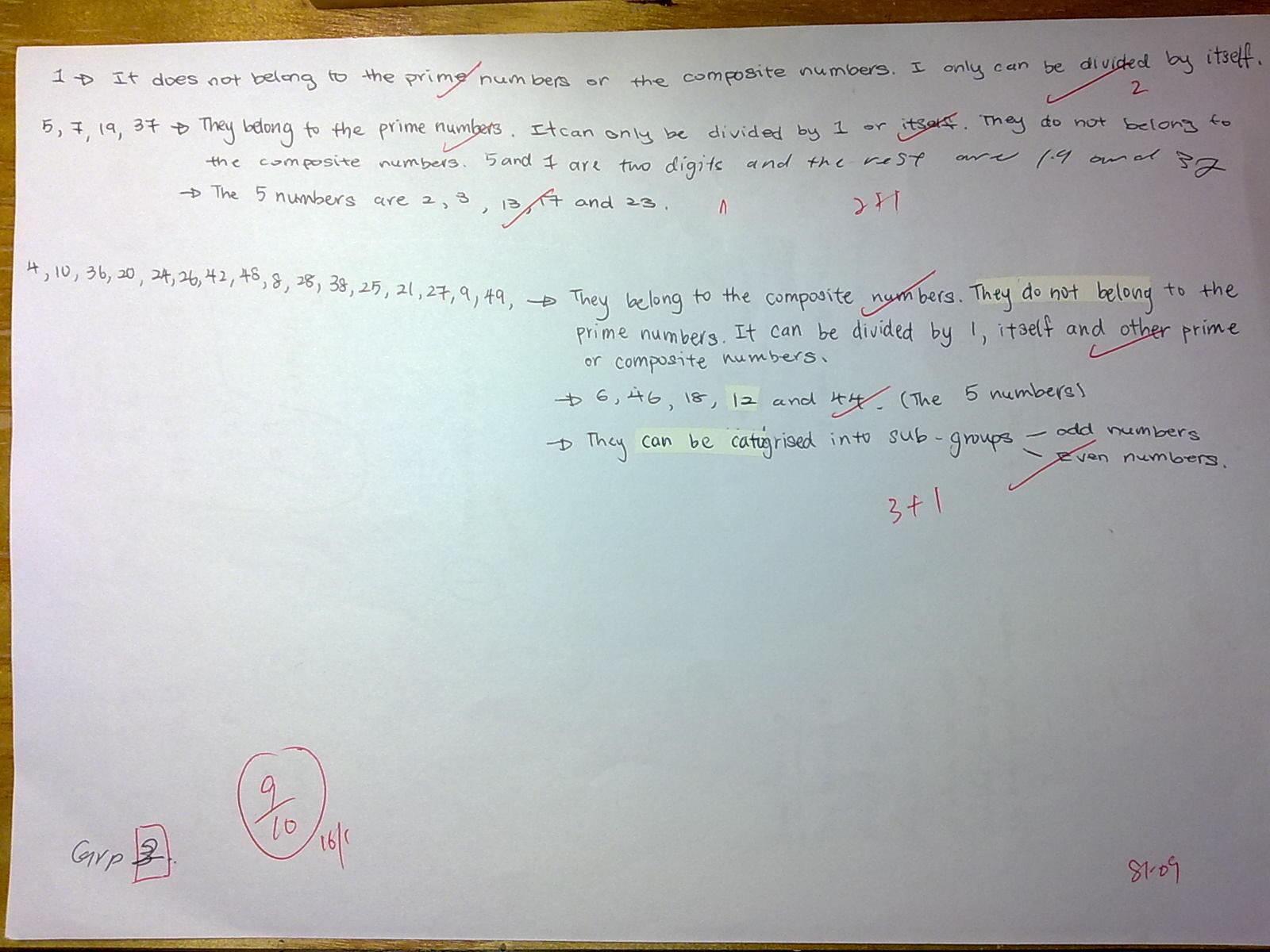 2012 S1-09 Maths Blog: January 2012