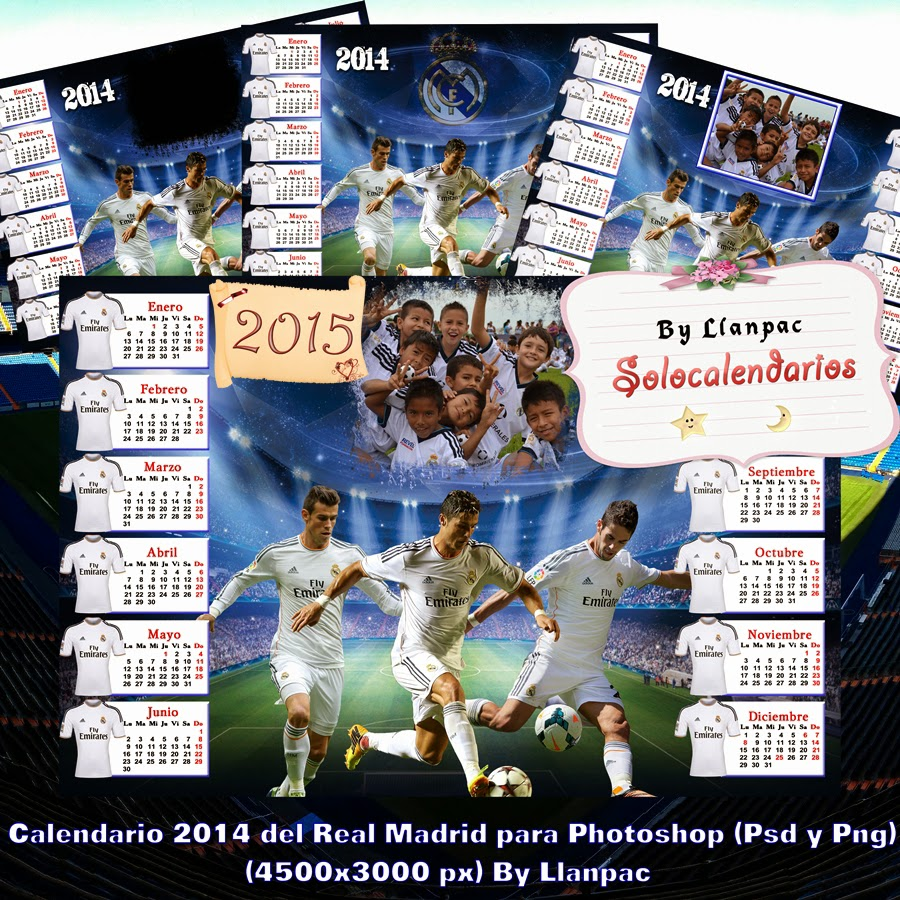 900 x 900 jpeg 295kB, ... : Calendario del 2015 del Real Madrid para ...