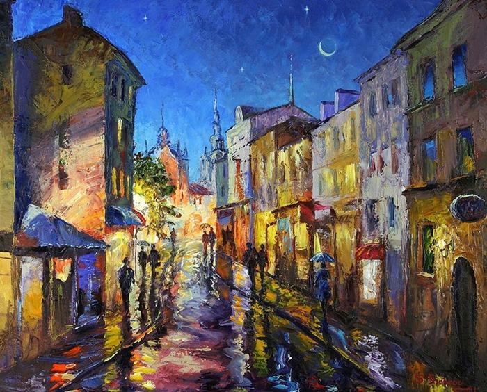 Stanislav Sidorov Сидоров Станислав Николаевич 1954 | Russian Genre painter