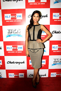 Esha at  'Chakravyuh' Audio launch on 92.7 BIG FM