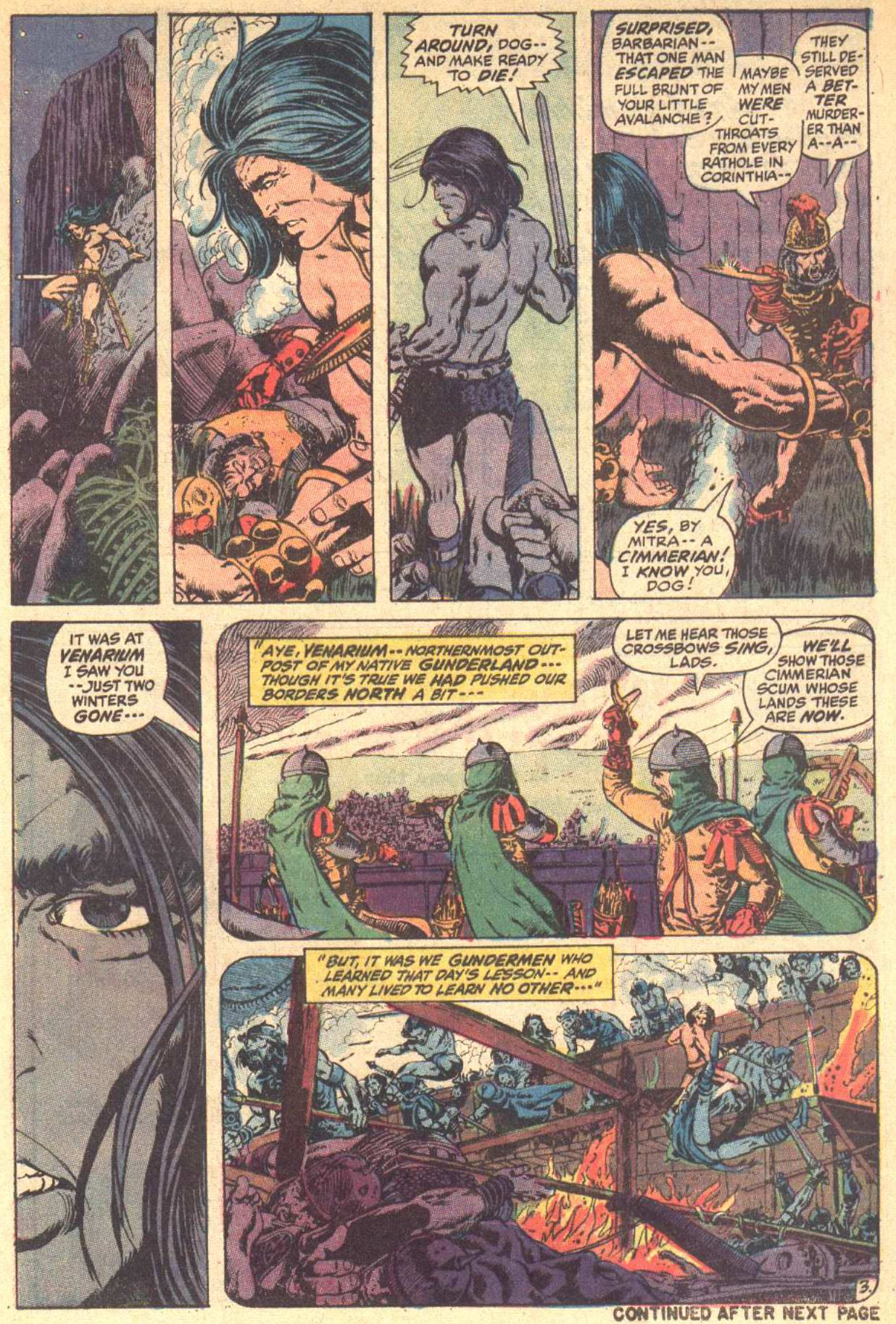 Conan the Barbarian (1970) Issue #8 #20 - English 4
