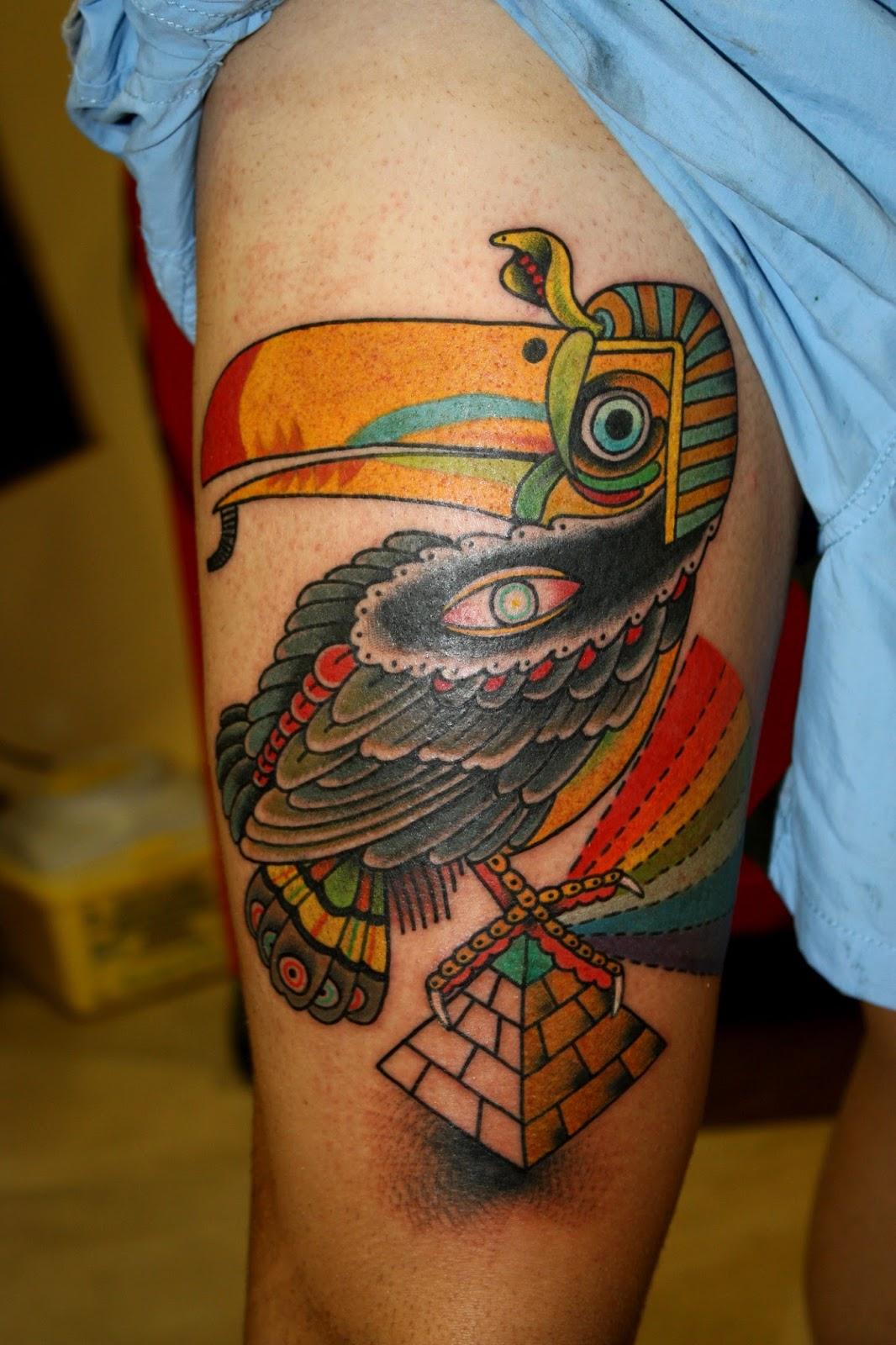 Tatuajes Alcorcon horny trash: deno tattoo circus