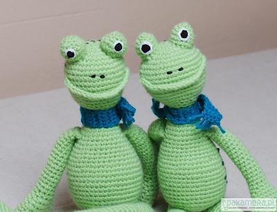 Żaba zabawka Eco manufaktura