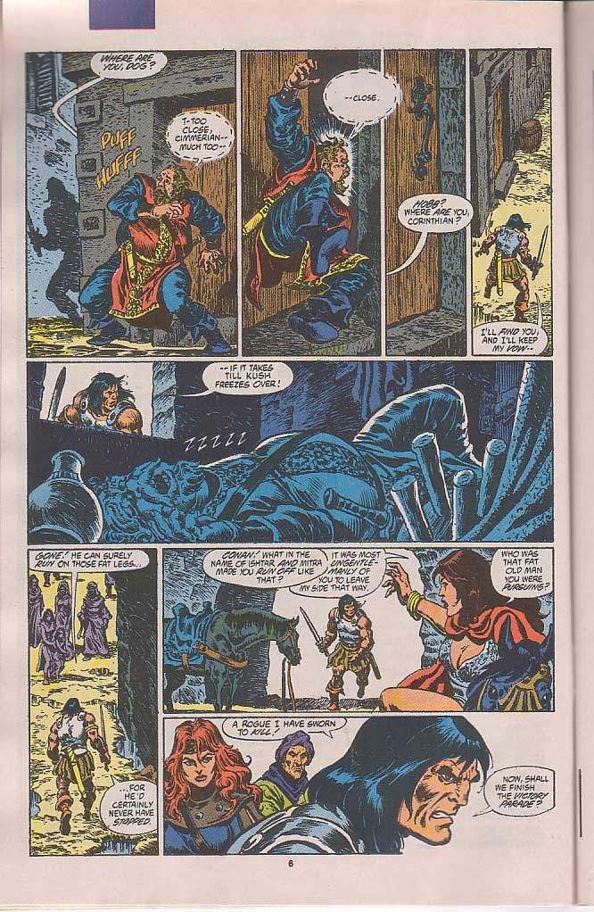 Conan the Barbarian (1970) Issue #250 #262 - English 6